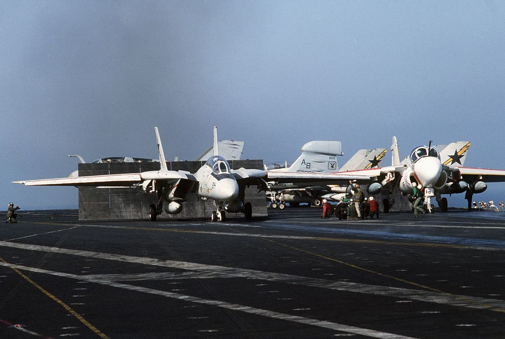 F-14 Vs MiG-25: when U.S. Navy Tomcats outmanoeuvred Gaddafi's Foxbats over the Gulf of Syrte