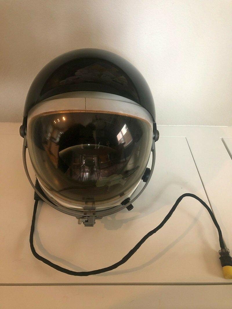 Currently available on Ebay: ultra-rare Original SR-71 Blackbird Pilot Helmet