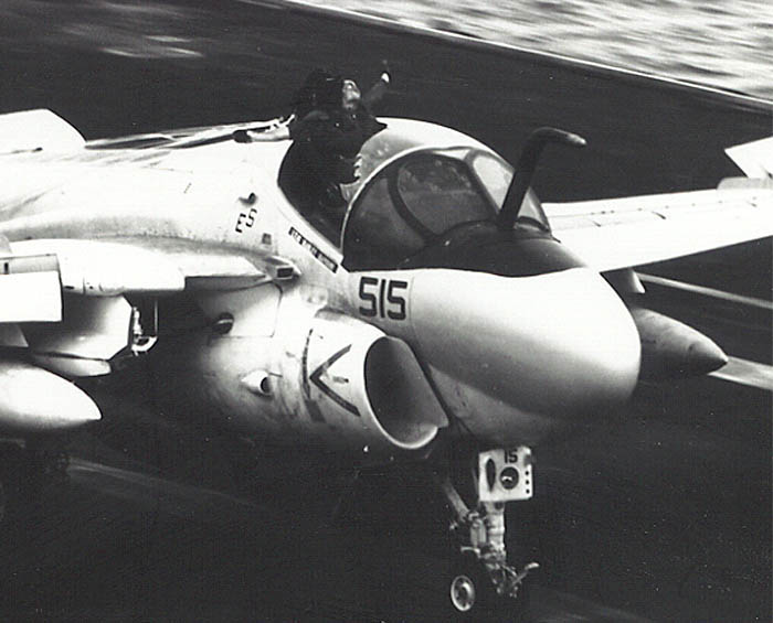 The Incredible Story of Keith Gallagher, the KA-6D B/N Who Survived Partial Ejection from his Intruder