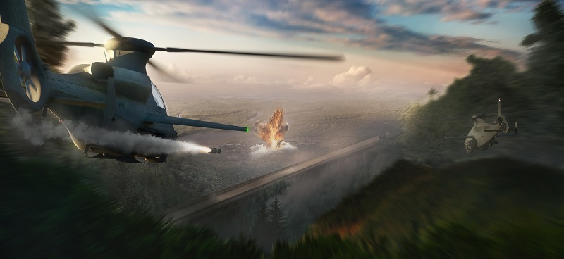 Bell Unveils New 360 Invictus Attack Helicopter for US Army's Future Attack Reconnaissance Aircraft Contest