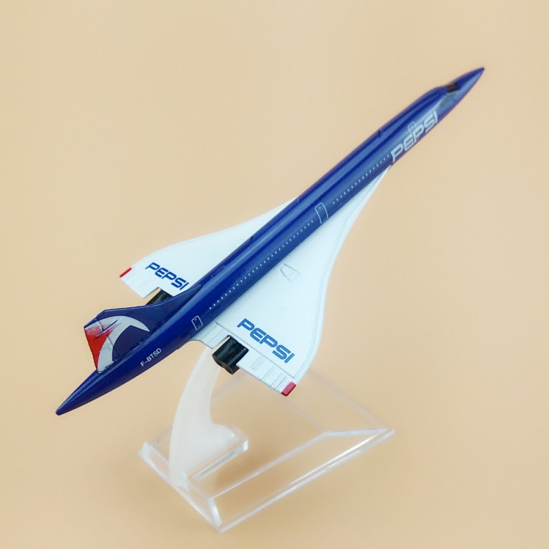 Here's why Pepsi Blue Paint Limited Concorde to Mach 1.7