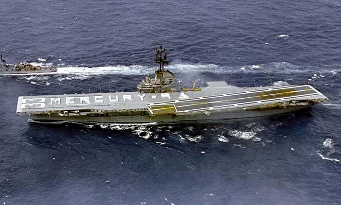 USS Kearsarge MERCURY-9