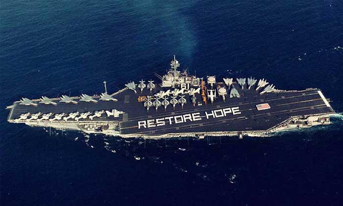 USS Ranger Restore Hope