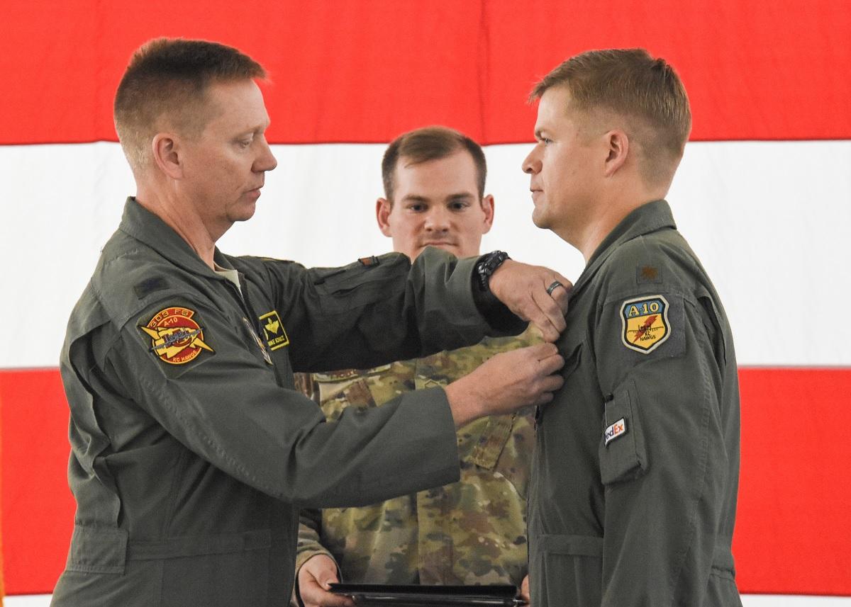 Two A-10 Pilots Receive Distinguished Flying Cross for Multiple BRRRRRTTTTTTT Runs on Taliban