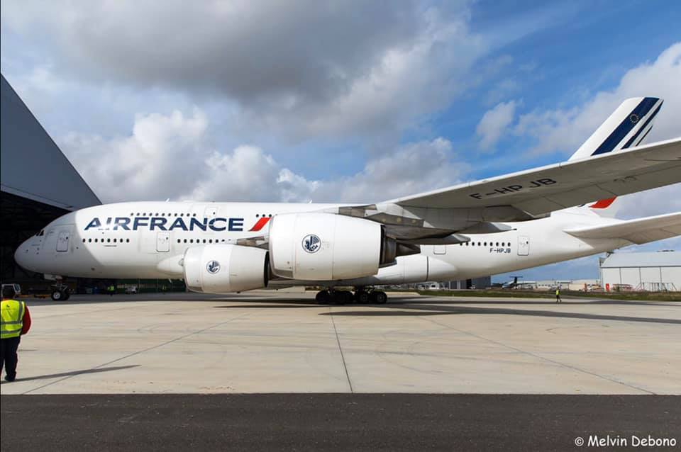 First Airbus A380 Scrapped