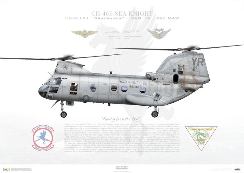 CH-46 Print