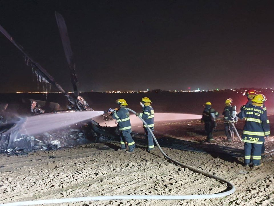 Israeli Air Force CH-53 Yas'ur Crash-Lands in Negev Desert. All Crew Members Uninjured