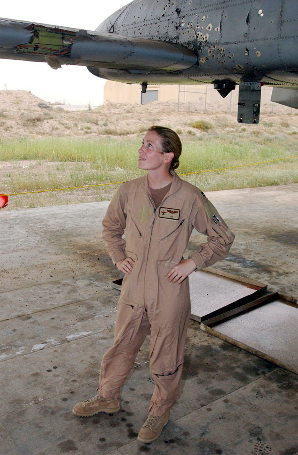 The Story of Kim Campbell the Heroic Female A-10 Pilot who Landed Her Damaged Warthog Using Only 'Cranks and Cables'