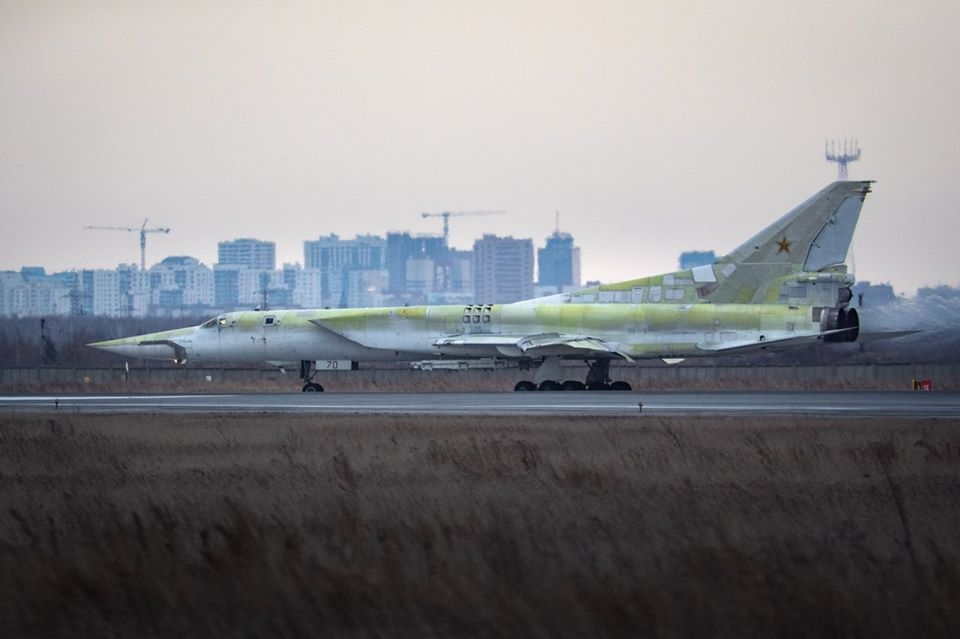 Tu-22M3 Resurrected From Storage to rejoin Russia's Bomber Fleet