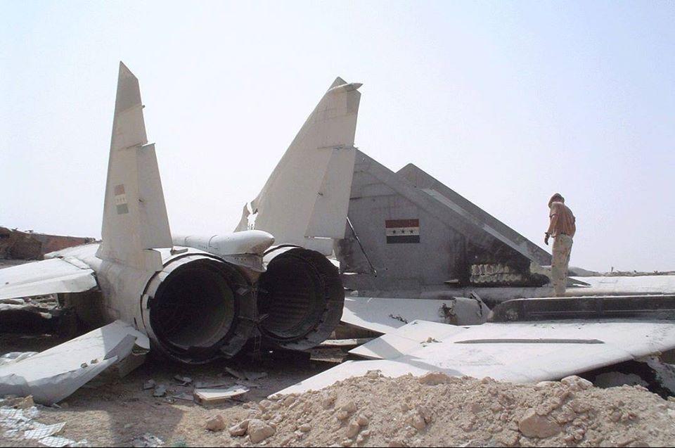 MiG-25 Big Wing Fence