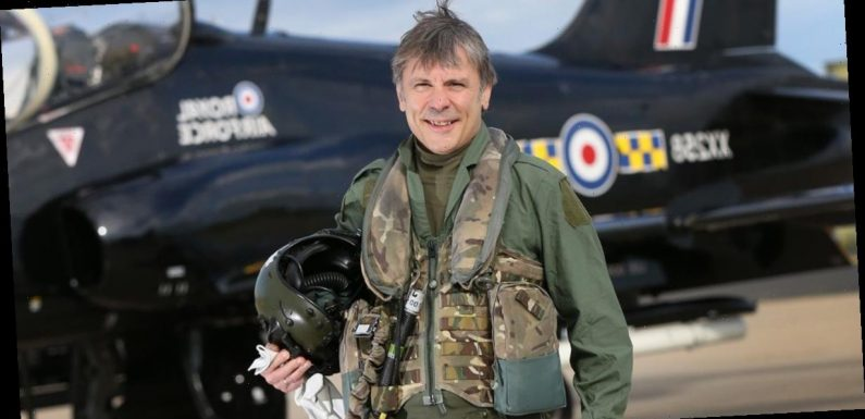 Iron Maiden frontman Bruce Dickinson Declared RAF Group Captain