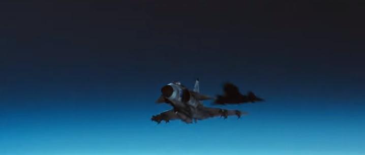 Short Movie shows Swedish JA-37 Viggen Fighter Jet Achieving Radar Lock On SR-71 Blackbird Mach 3 Spy Plane