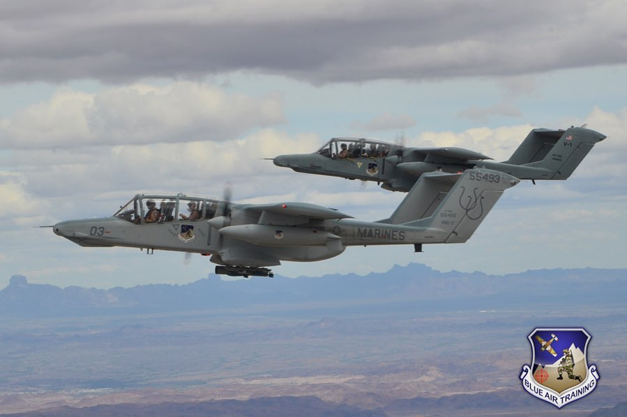 The Bronco is Back! Blue Air Training Acquires Seven OV-10 light attack aircraft to support JTAC training missions