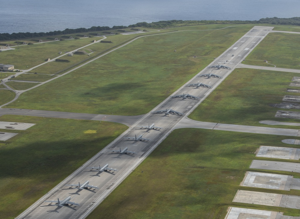 Impressive Elephant Walk Ends USAF Continuous Bomber Presence in Guam after 16 Years