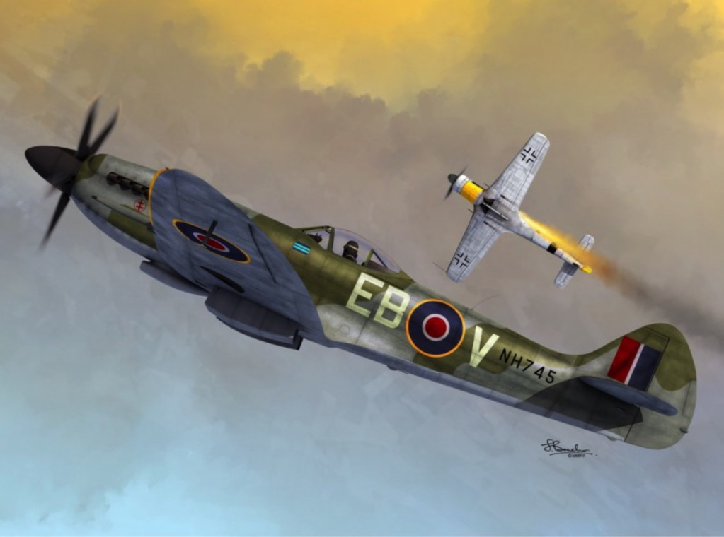 Here's why, also according to Adolf Galland, the Spitfire Mk.XIV (and not  the P-51D) was the best piston-engined fighter of WWII in Europe - The  Aviation Geek Club
