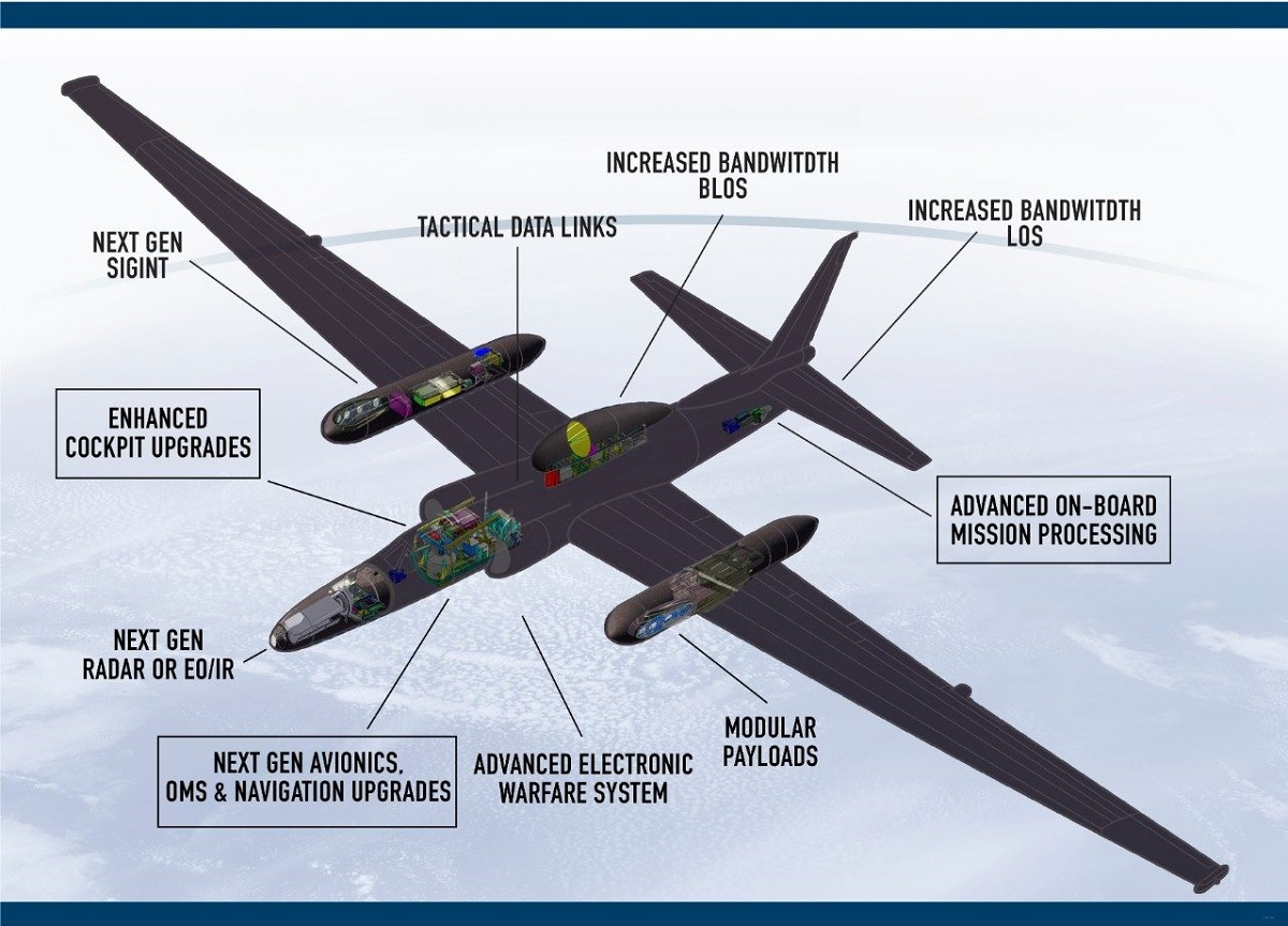 New U-2 Upgrade Underpins Dragon Lady's Role in Bridging Capabilities Needed for Next Generation Battlespace