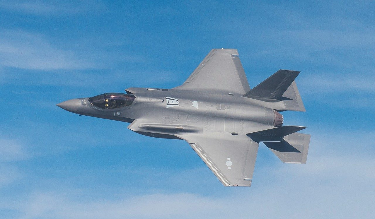 "South Korea Christens the F-35A ""Freedom Knight"" – The Aviation Geek Club"