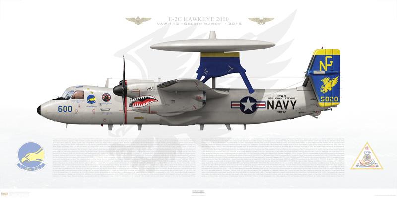US Navy celebrates 60th anniversary of E-2 Hawkeye's first flight