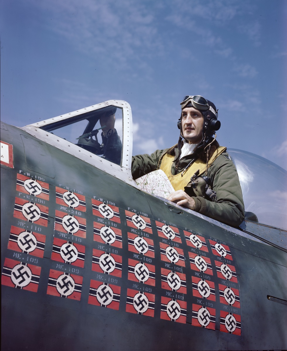 "Legendary fighter pilot Francis ""Gabby"" Gabreski was one of the firsts to test the F-100 aerial refueling capability, but he preferred to attack a squadron of Fw-190s alone in a P-47. Here's why."