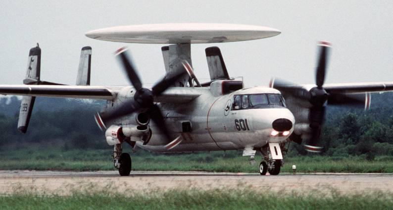 That time a US Navy F/A-18 shot down a US Navy E-2C on purpose to avoid casualties