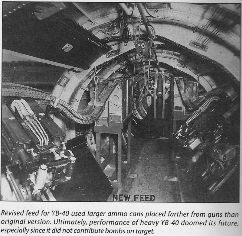The Boeing YB-40: how the B-17F strategic bomber was turned into a four-engined escort fighter
