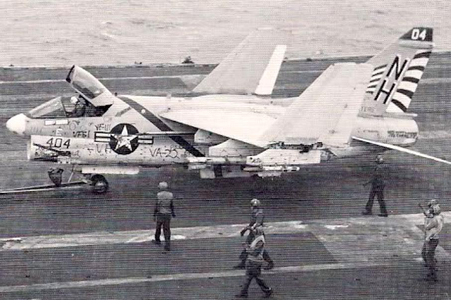 Here's what happens when you land on the wrong aircraft carrier