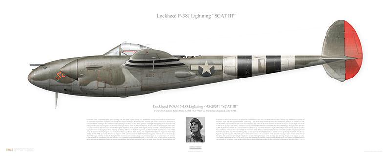P-38 print