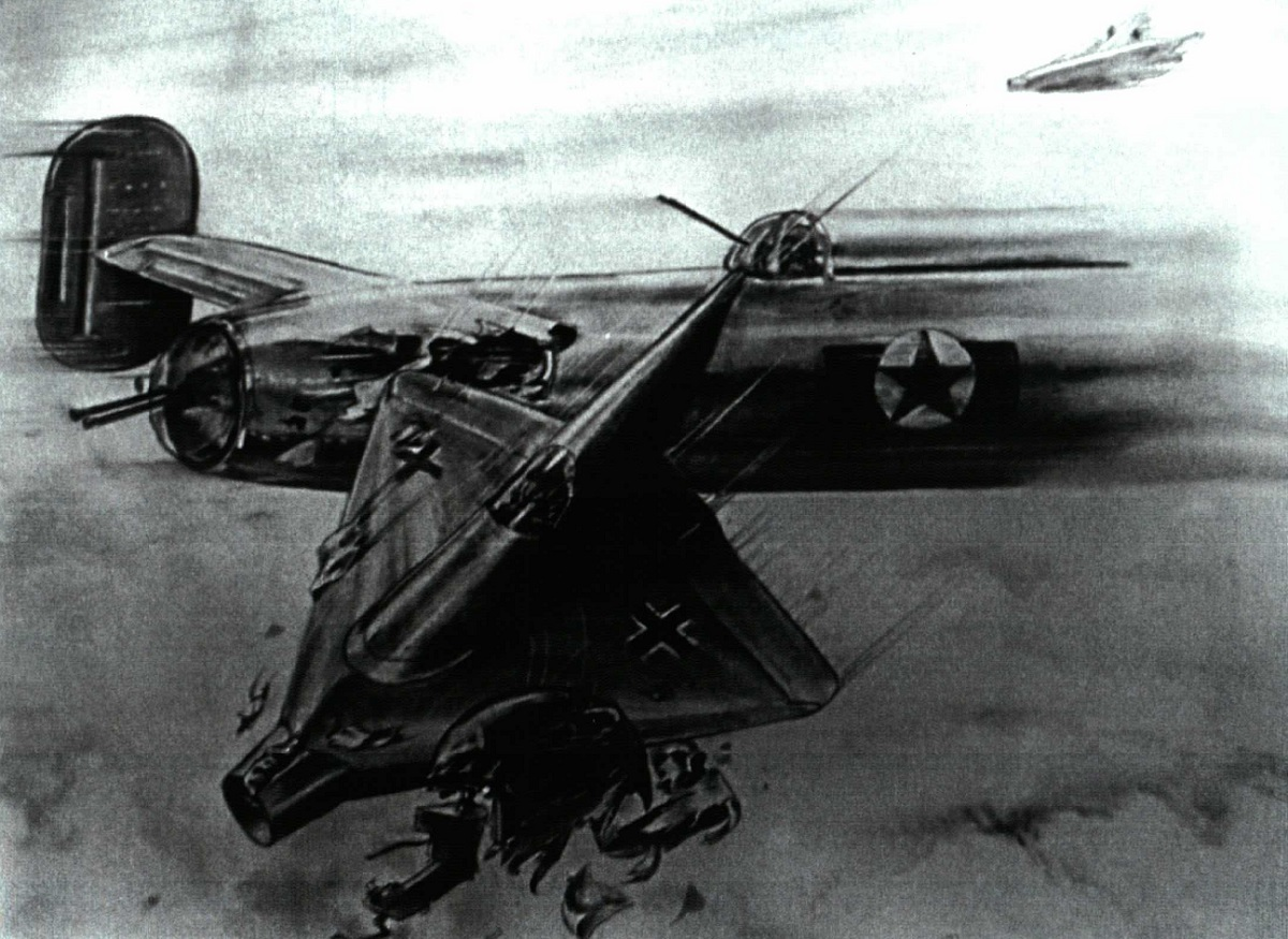 The story of the Lippisch P 13, the Nazi Mach 2.6 interceptor designed to ram Allied bombers that led to the development of the F-102 Delta Dagger and the F-106 Delta Dart
