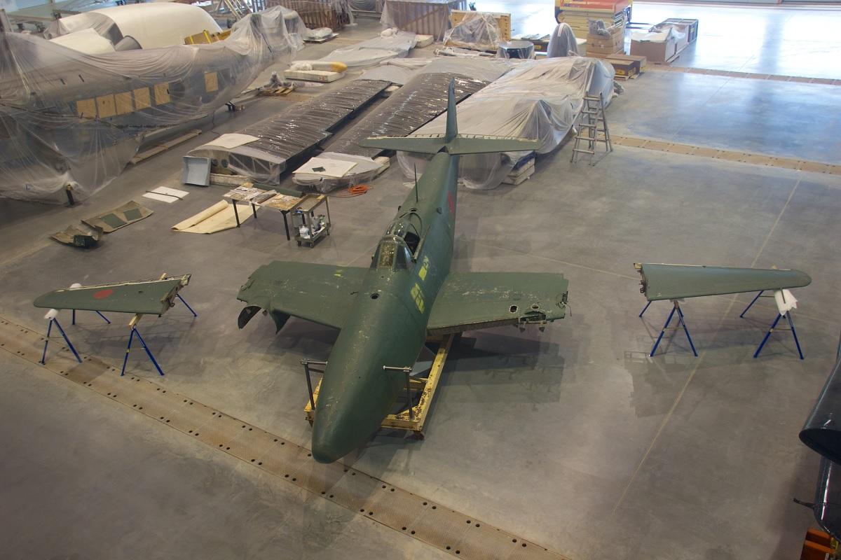 The story of the Nakajima Kikka, the Japanese Messerschmitt Me 262 Schwalbe that never was