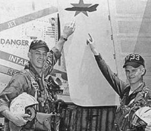 The story of Roy 'Outlaw' Cash, the first US Navy RIO to re-train as a pilot who scored the first MiG kill for the F-4J and VF-33