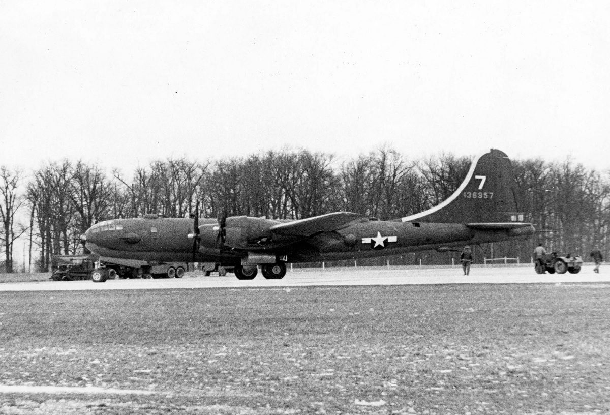 The story of Cross Country, the only YB-29 Bomber Escorter ever built
