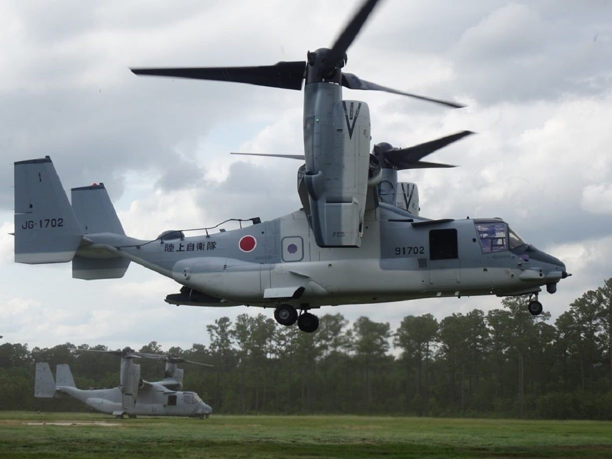 Japanese Self-Defense Forces began V-22 flight operations marking the first international partner to fly the US military aircraft – The Aviation Geek Club