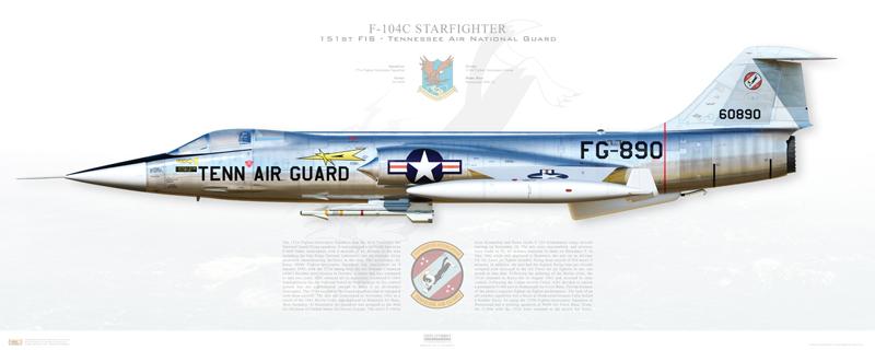 F-104 Print