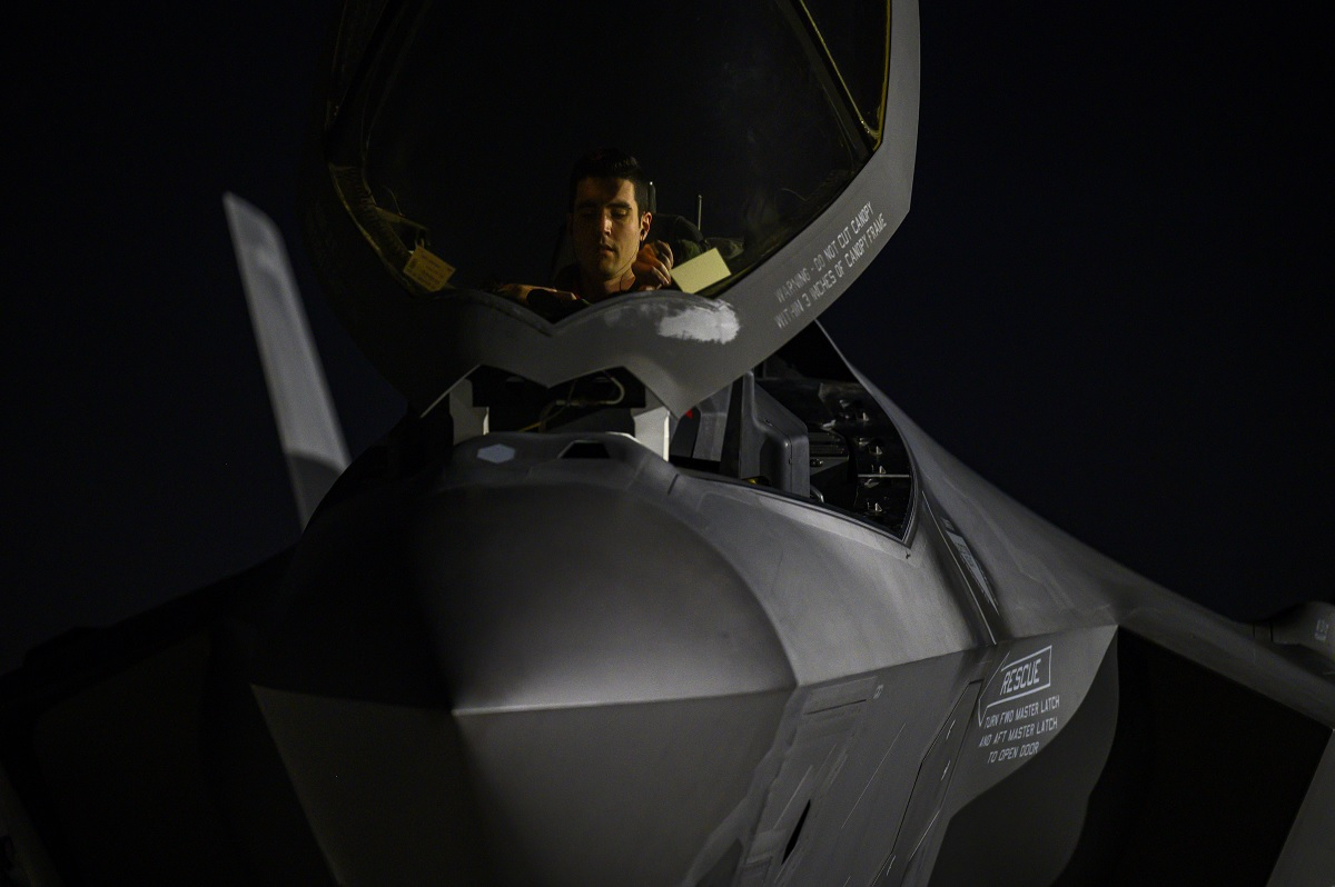 Hill AFB F-35A pilots take on 'impossible to replicate' scenarios at Red Flag 21-1