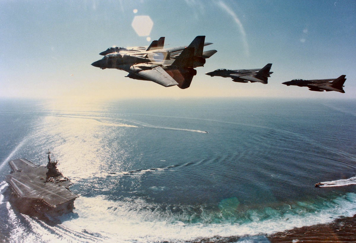 "Launching the Phoenix and dogfighting against the F-15: Q & A with F-14 Tomcat RIO Dave ""Bio"" Baranek Part 2"