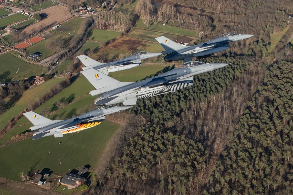 "Meet Belgian Air Component Captain Steven ""Vrieske"" De Vries, the first non-US F-16 pilot to clock 5,000 hours in the Viper"