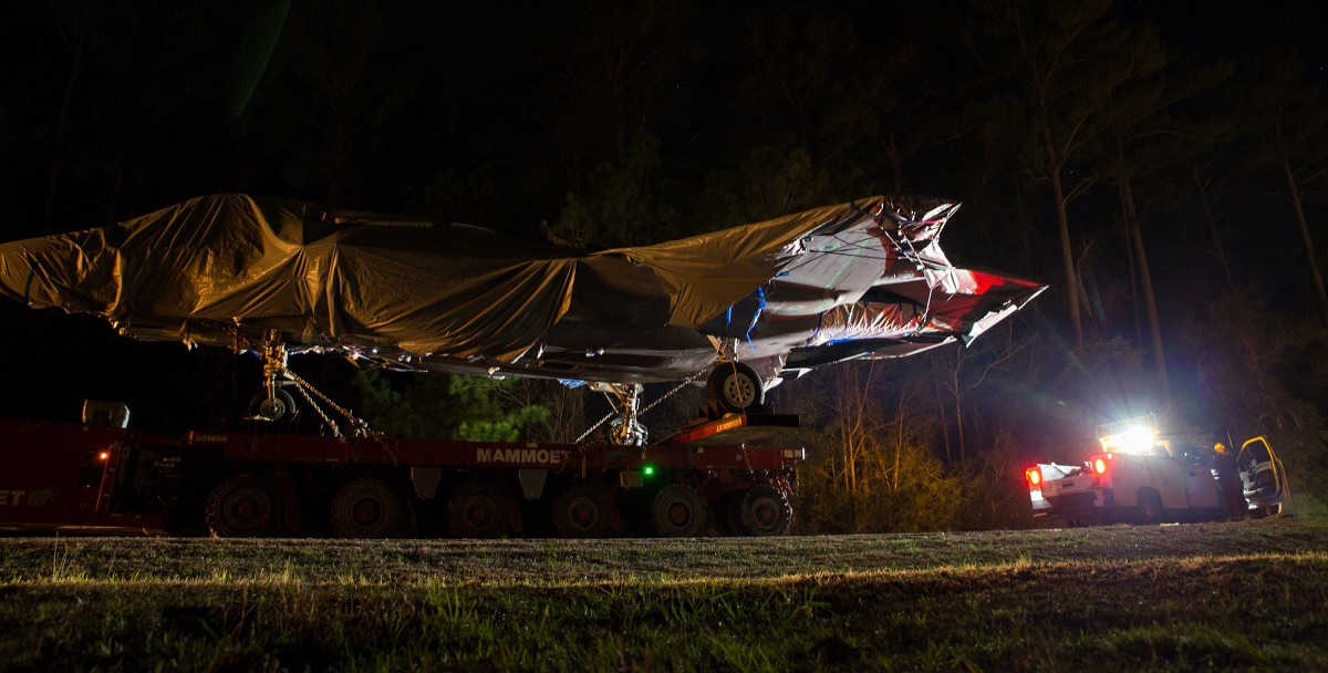 MCAS Cherry Point receives F-35 airframe to support fleet readiness