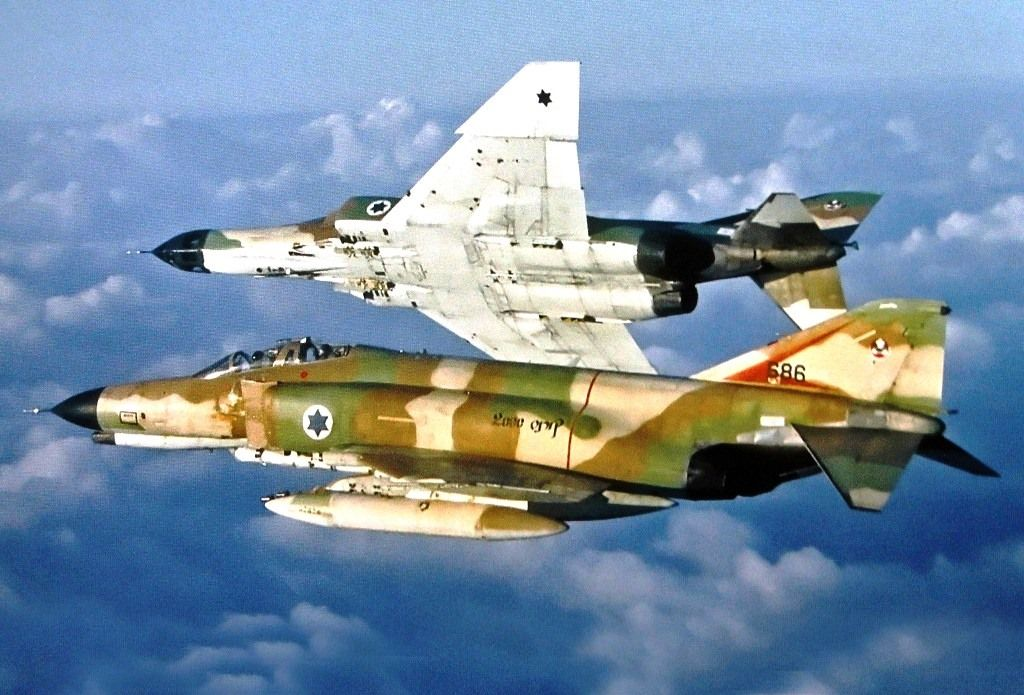 The story of the Israeli F-4 flight that dodged (at least) 20 Syrian SAMs in a single mission during the Yom Kippur War