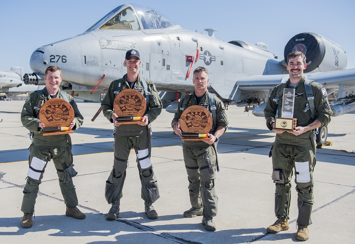 190th Fighter Squadron emerged as the overall winner for Hawgsmoke 2021, a biannual A-10 Thunderbolt II competition, at Moody AFB