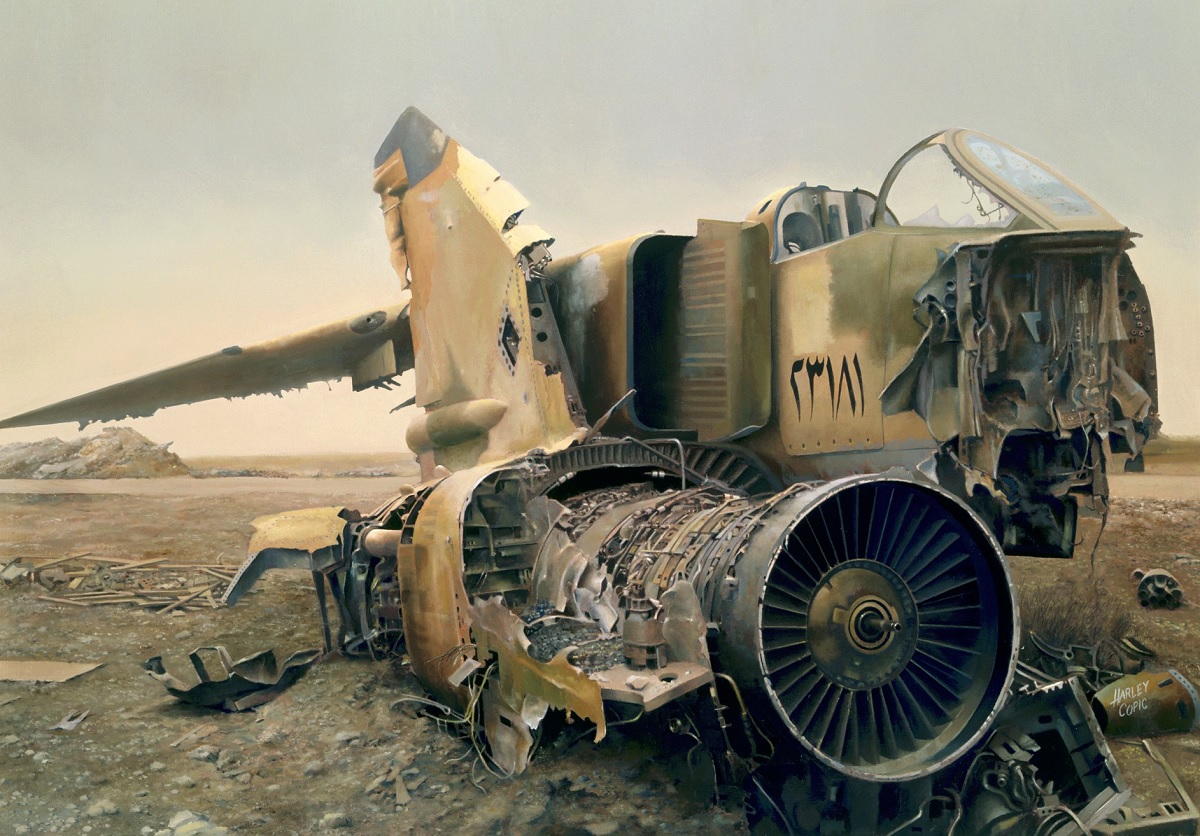 Remembering the Iraqi Air Force fighter jets found buried in the desert by American Forces during Operation Iraqi Freedom