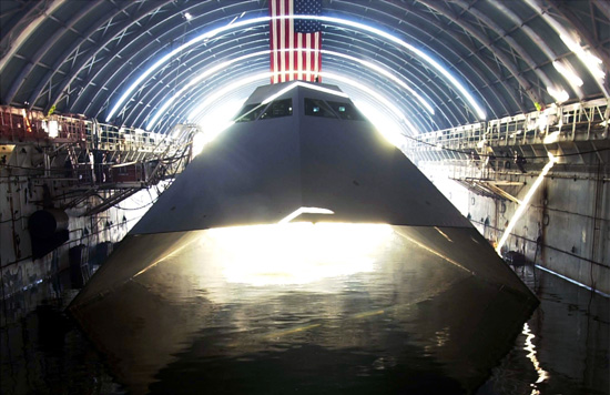 Remembering the Lockheed Sea Shadow, the ship that used the same stealth technology of the F-117 Nighthawk