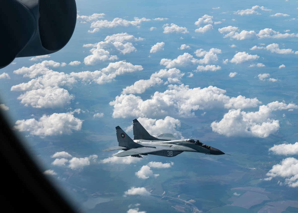 USAF B-52 strategic bombers Fly Over All 30 NATO Nations for the Second Time