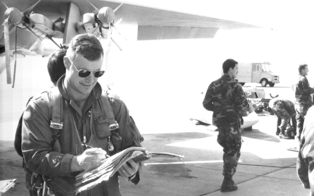 Only USAF Wing Commander to record an air-to-air kill during Operation Desert Storm passes away