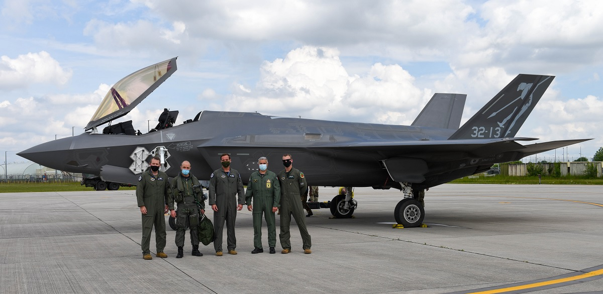 Italian Air Force F-35 Lightning IIs train at Aviano Air Base for first time ever