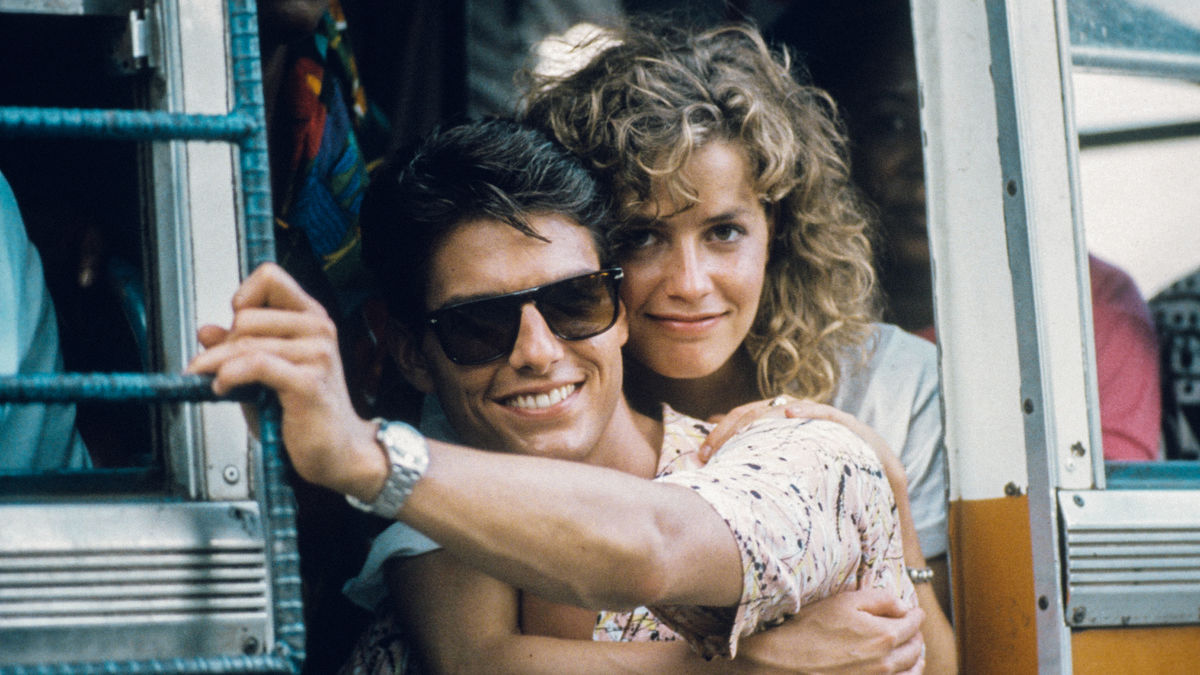 The day Tom Cruise saved his co-star Elisabeth Shue from being killed by spinning helicopter blades