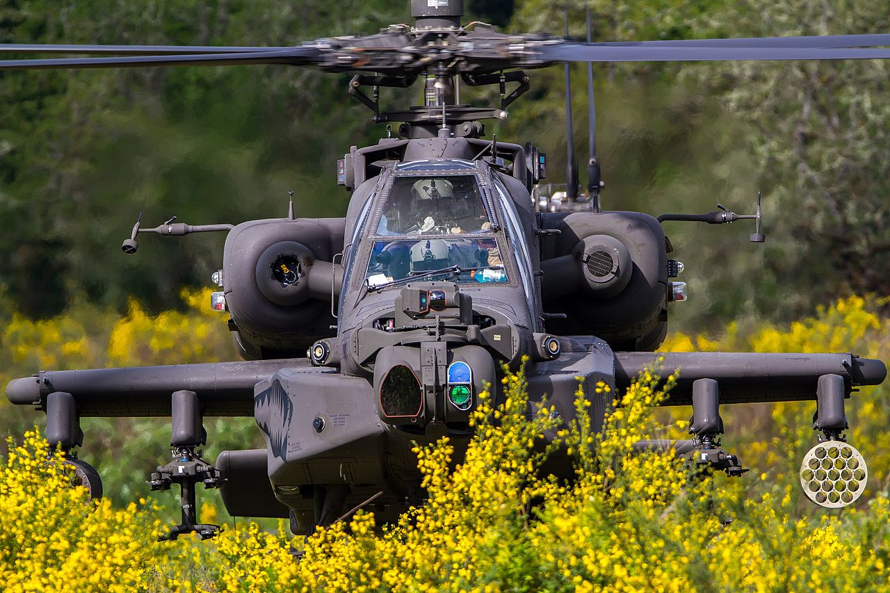 Here's why a terrain-masked attack helicopter is safe against missiles but not against tube artillery