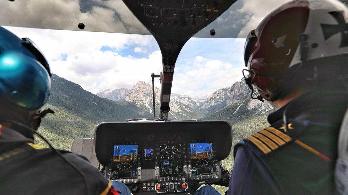 The day an Elisoccorso Alto Adige Airbus H145 helicopter crew saved my life