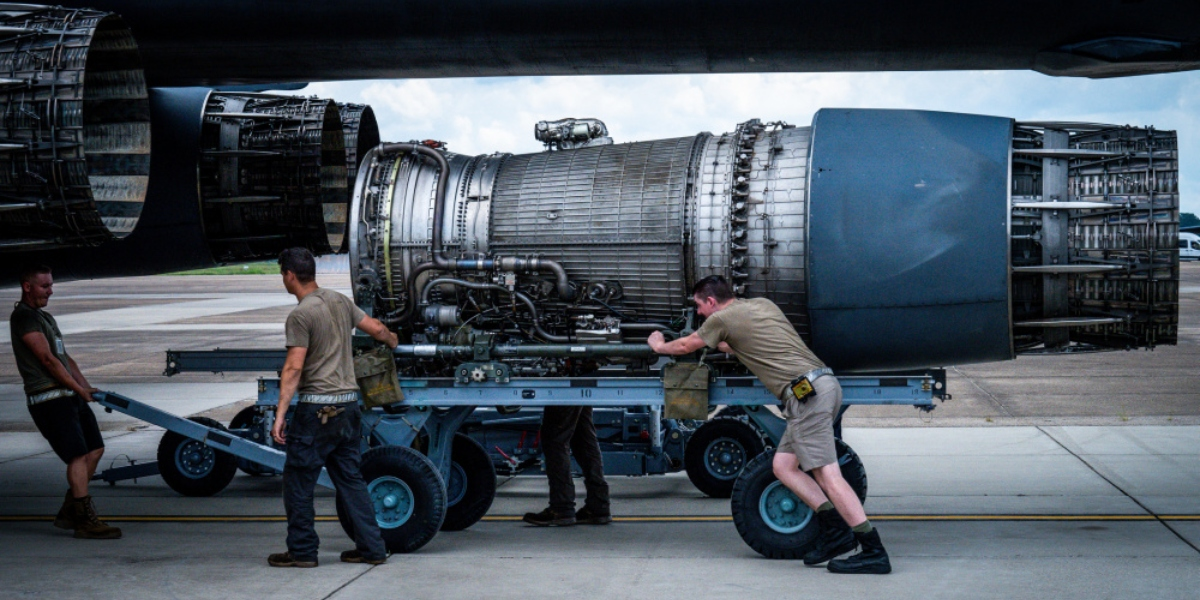 Interesting photos show B-1B Lancer decommission process at Barksdale AFB