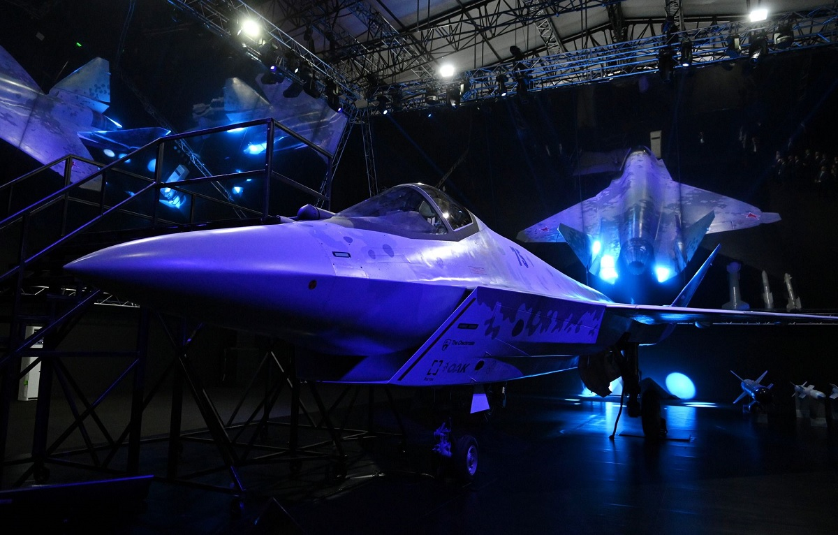 """Sukhoi officially Unveils the Checkmate, allegedly codenamed """"Screamer"""" by US Intelligence"""