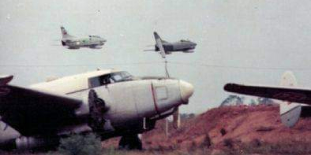 The story of the Fiat G.91R fighter bombers operated by the Portuguese Air Force in Angola